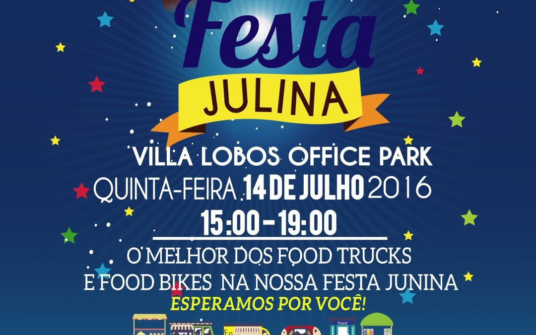 Festa Junina Villa Lobos Office Park 14/07