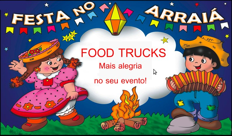 Festa Junina com Food Trucks